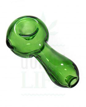 Glaspfeifen BLACK LEAF 'Einfach grün' | 8,5 cm