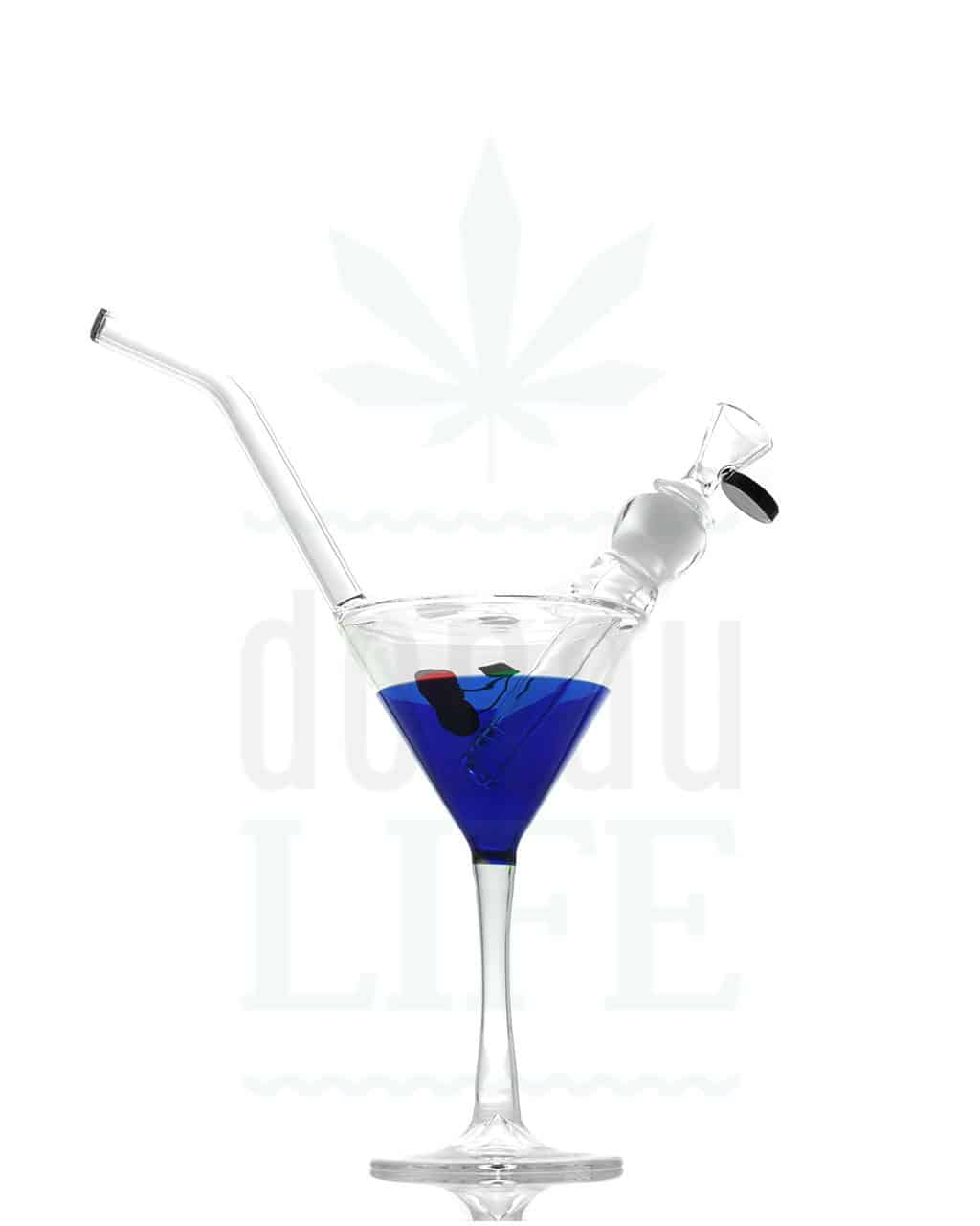 black leaf bong cocktail 20 cm donaulife. Black Bedroom Furniture Sets. Home Design Ideas