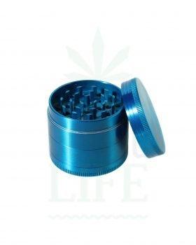 4-teilig 'Chromium Crusher' Aluminium Grinder 4-leilig rot | Ø 50 mm