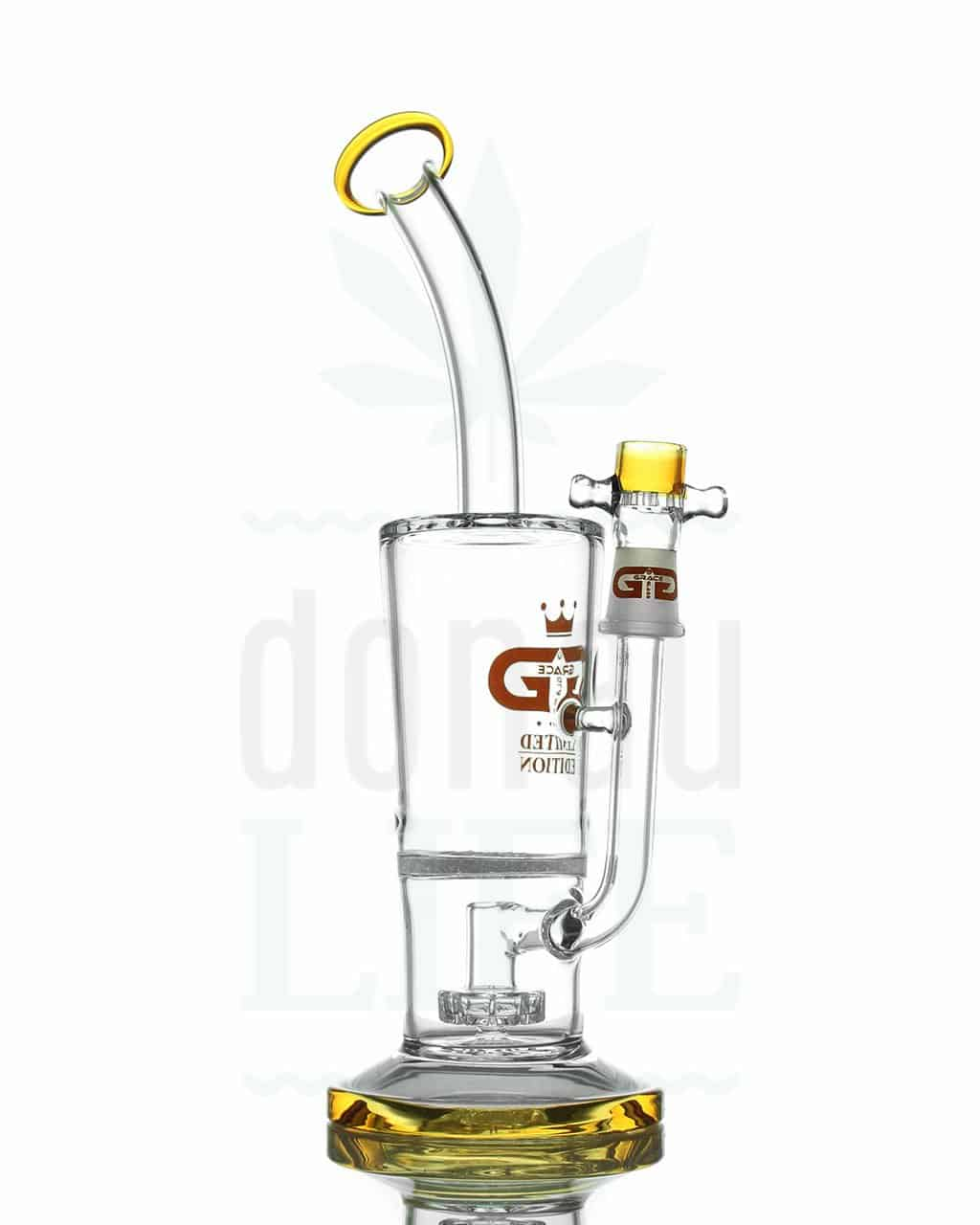 grace glass dab bong limited edition bernstein 27 cm donaulife. Black Bedroom Furniture Sets. Home Design Ideas