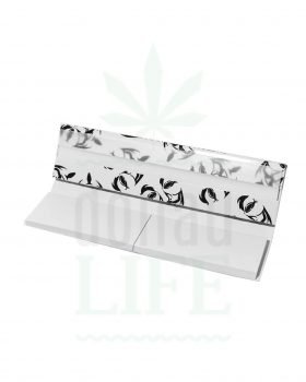 Headshop ANONYMOUS Kingsize slim Papers + Tips schwarz/weiss