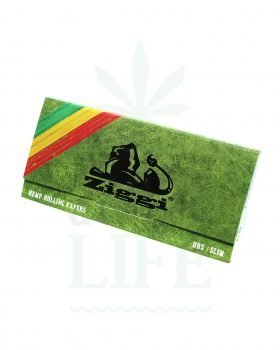 aus Hanf ZIGGY Classic Kingsize Papers + Tips mit Rolling Tray | 32 Blatt