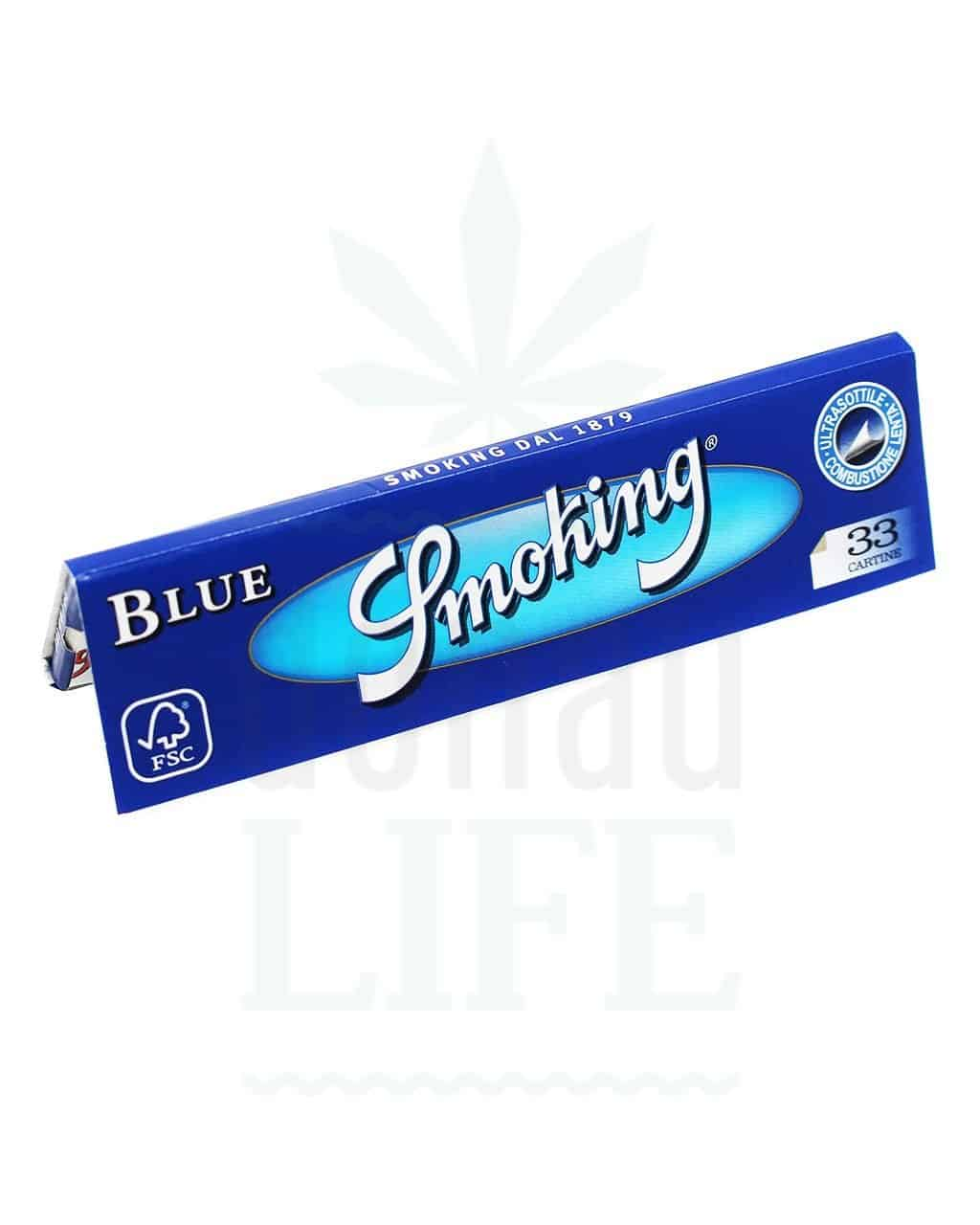 Beliebte Marken SMOKING 'Blue' Kingsize Papers | 32 Blatt