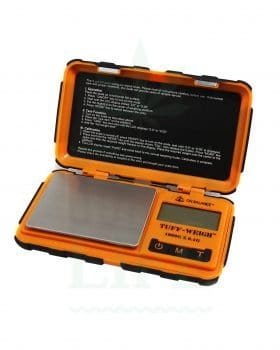 Headshop BLscale Digitalwaage 'Outdoor-Weigh' orange