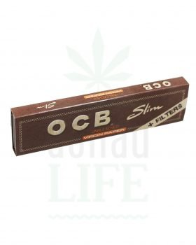 Beliebte Marken OCB Papers + Filter Tips 'Virgin' Kingsize slim | 32 Blatt