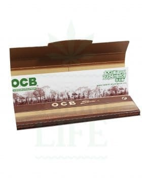 Headshop OCB Papers + Filter Tips 'Virgin' Kingsize slim | 32 Blatt