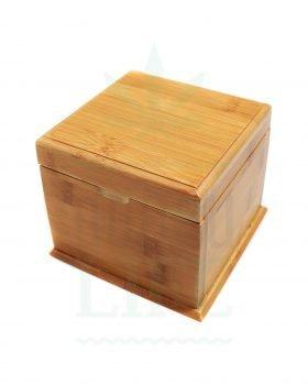 Aufbewahrung Stashbox Bambus 'Little Secret' mit Geheimfach