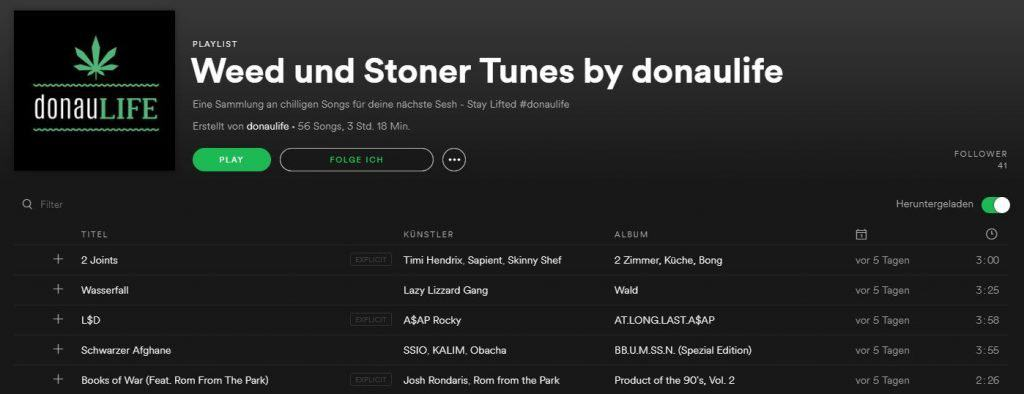 Weed und Stoner Tunes