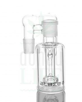nach Hersteller BLAZE GLASS Vorkühler 'Recycle' klar 90° | 18,8>18,8mm