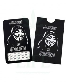 Grinder V SYNDICATE Grinder Card 'Justice is coming' | Kreditkarten Format