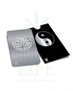 Geschenkideen V SYNDICATE Grinder Card 'YingYang' | Kreditkarten Format