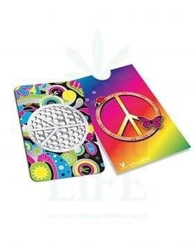 Grinder V SYNDICATE Grinder Card 'Peace' | Kreditkarten Format