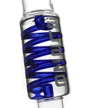 aus Glas BLAZE GLASS Kolbenbong mit Kühlspirale 'Freezing HAZE' (2-teilig)