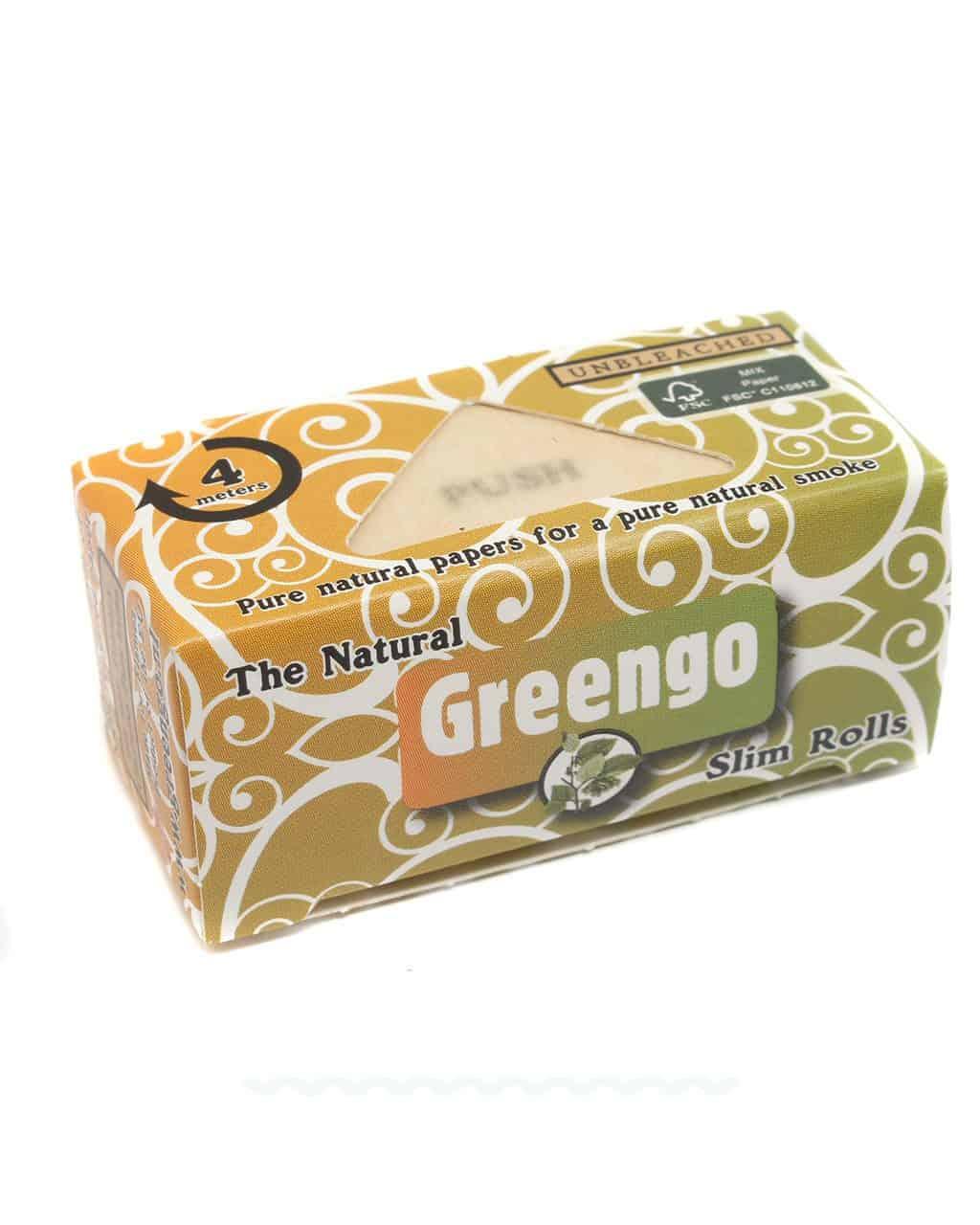 Endlos Papers / Rolls GREENGO Slim Rolls 'The Natural' ungebleicht