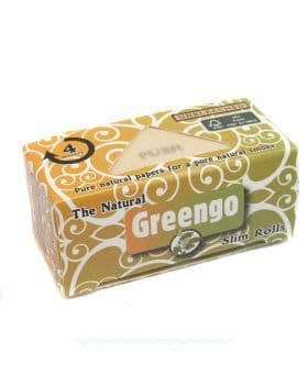 Headshop GREENGO Slim Rolls 'The Natural' ungebleicht