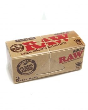 Headshop RAW Rolls 'Natural' Ungebleicht | 3m