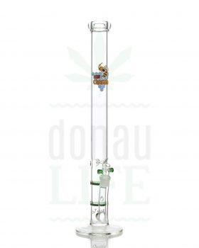 aus Glas BLACK LEAF Honeycomb Bong 'X2' | 57 cm
