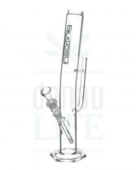 aus Glas INSOMNIA Glasbong 'Grip' mit Griff-Turbokickloch | 45 cm