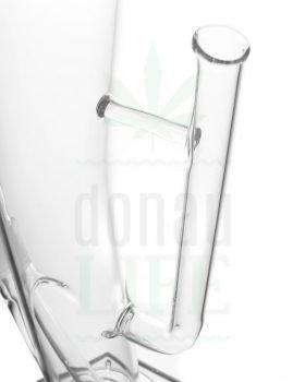 Bong Shop INSOMNIA Glasbong 'Grip' mit Griff-Turbokickloch | 45 cm