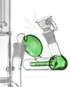 14,5 mm INSOMNIA Vorkühler grün 45° | 18,8>18,8mm