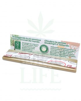 Headshop SMOKING 'Gold' King Size Papers | 33 Blättchen