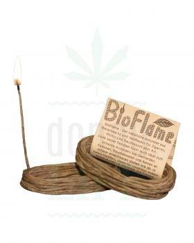 Anzünder BIOFLAME Hemp Wick aus Biohanf | 420 cm