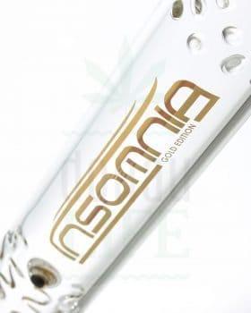 aus Glas Insomnia 'Gold Standard' mit 6-Kant Fuß | 50 cm