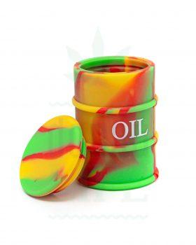 Aufbewahrung BLACK LEAF Silikontonne 'OIL'  für Extrakte