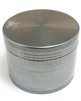 4-teilig BLACK LEAF Aluminium Grinder 'Monster Crush' 4-teilig | Ø 90 mm