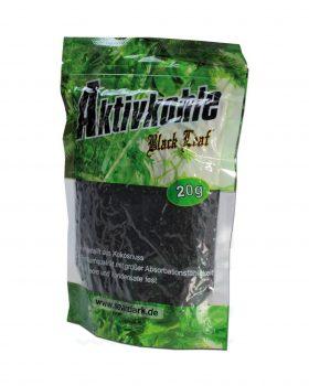 Aktivkohlefilter BLACK LEAF Aktivkohle aus Kokos | 20g