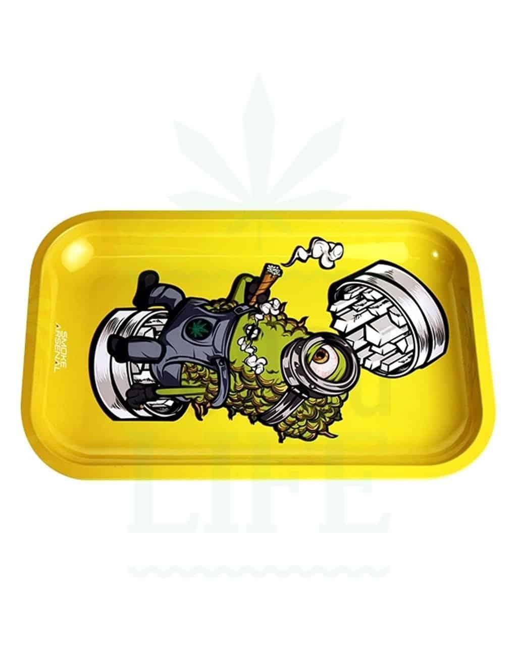 aus Metall SMOKE ARSENAL Rolling Tray   'Spacebender'