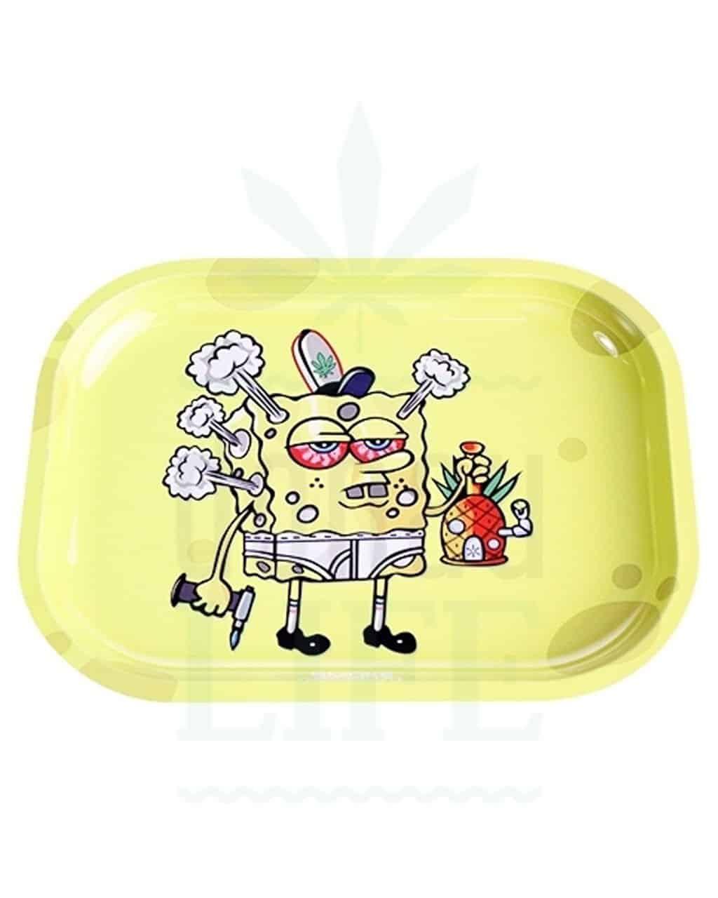 aus Metall SMOKE ARSENAL Rolling Tray | 'Spongebong'