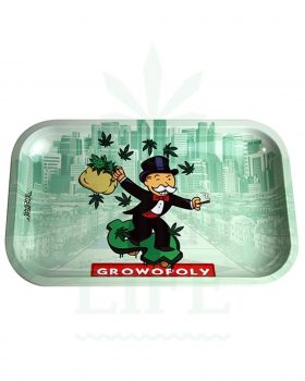 Mischschalen SMOKE ARSENAL Rolling Tray | 'Grownopoly'