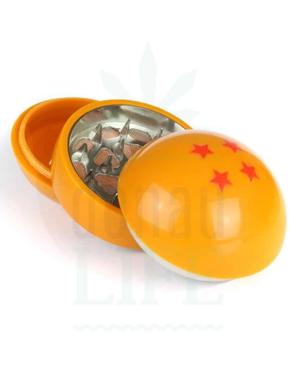 3-teilig Drachen Ball Grinder '4 Star' 3-teilig | Ø 55 mm
