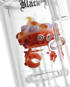 aus Glas BLACK LEAF Bubbler Bong 'Mrs. Crabs' | 28,5 cm