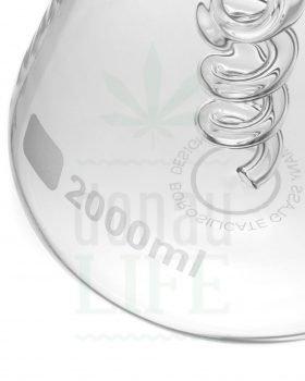 aus Glas NARCOTIC Glas Bong 'Spyro' | 24 cm