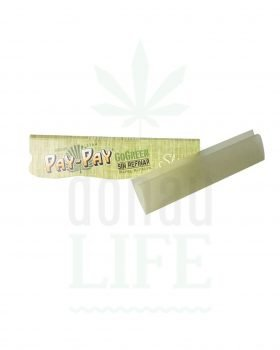 Headshop PAY-PAY Papers 'GoGreen' King Size Slim | 32 Blatt