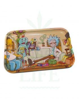 Mischschalen DUNKEES Rolling Tray | 'Rick and Homer'