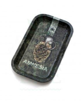 aus Metall PLANT OF LIFE Rolling Tray | 'Amnesia Haze'