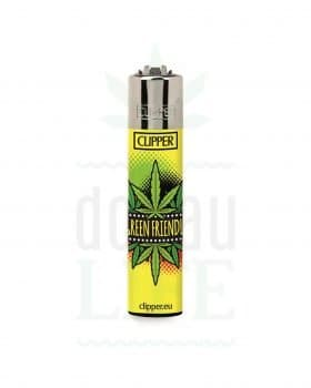 Anzünder CLIPPER Bong Feuerzeug 'Rasta King' | Green Friendly