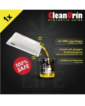 Beliebte Marken CLEAN U Screen Urin im Beutel | 25ml