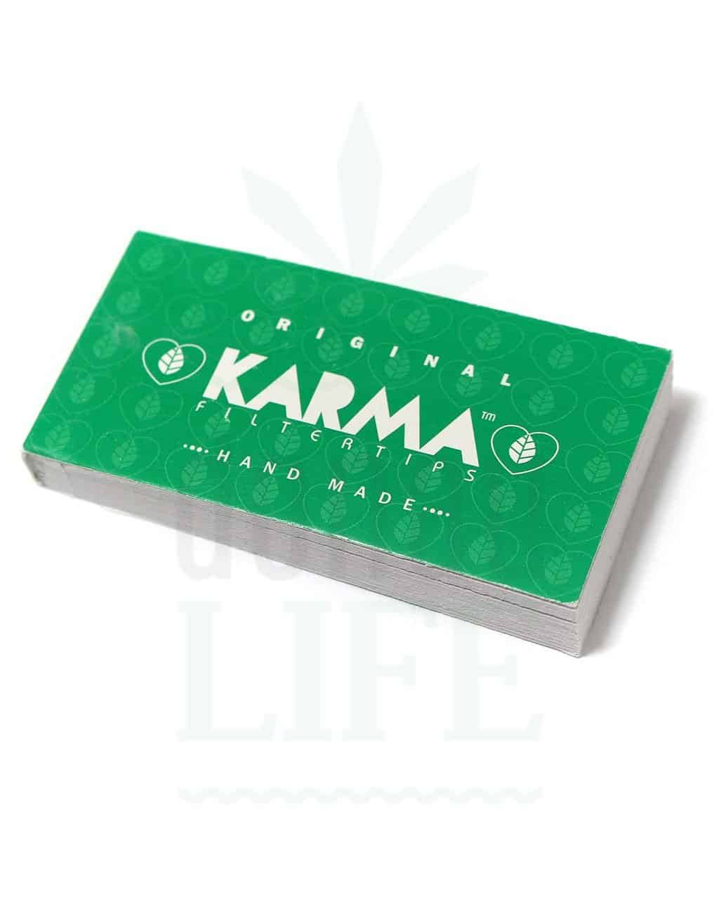 Beliebte Marken KARMA Filter Tips Original 'XL Edition' | 32 Blatt