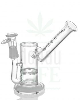 aus Glas D-LUX Bubbler 'Clear Oil' | 22 cm