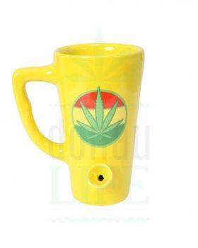 Headshop Kaffeetasse Pfeife mit Kickloch | 15 cm