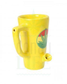 Geschenkideen Kaffeetasse Pfeife mit Kickloch | 15 cm