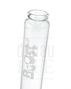 aus Glas BOOST Eisbong 'Twisted Bouncer' | 46 cm