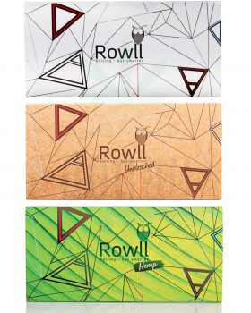 Headshop ROWLL Papers + Tips + Grinder | All in 1 Kit