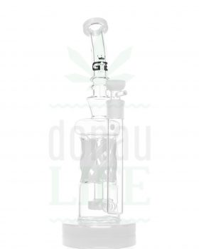 Bong Shop GRACE GLASS OG Series 'Twisted Reality' weiss | 34 cm
