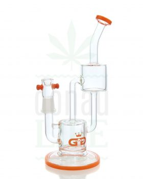 aus Glas GRACE GLASS Recycler 'Trashmill' ink. Dab Nail | 26 cm