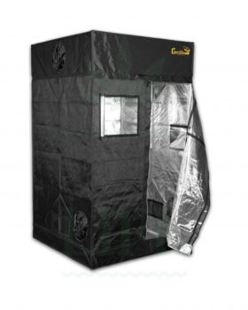 Growshop GORILLA GROW TENT 'GGT44' 'Shorty' Zucht Zelt | 122 x 122 x 150/175 cm